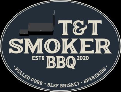 T&T Smoker BBQ Logo